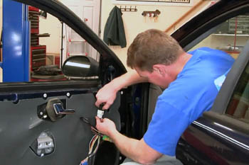 Auto glass and power window repair